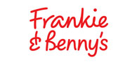Save 20% off food at Frankie and Benny's Logo